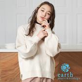 「Winter」 舒適有機棉素面蓬袖上衣 - earth music&ecology
