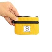 錢包男 雙層拉鏈零錢包迷你小錢包帆布男女學生卡包錢袋多功能簡約可愛