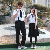 學生制服套裝學院風日系校服小時代女裙水手服韓國班服套裝JK制服『小淇嚴選』
