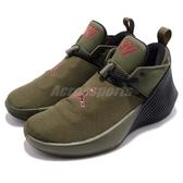 Nike Jordan Why Not Zer0.1 Low GS 綠 軍綠 黑 低筒 女鞋 大童鞋 運動鞋【PUMP306】 AO9744-300