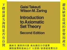 二手書博民逛書店Introduction罕見To Axiomatic Set TheoryY256260 Gaisi Take