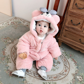 嬰兒衣服春裝嬰幼兒可愛超萌外出服抱衣爬爬服寶寶秋冬連體衣促銷好物