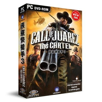 【軟體採Go網】PCGAME-俠盜快槍手3 Call of Juarez: The Cartel(含中文手冊)