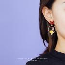 少女心耳釘2021年新款潮個性蝴蝶結耳環無耳洞耳夾女耳飾