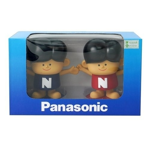 Panasonic 國際牌100週年紀念公仔娃娃存錢筒(2入) SP-1888