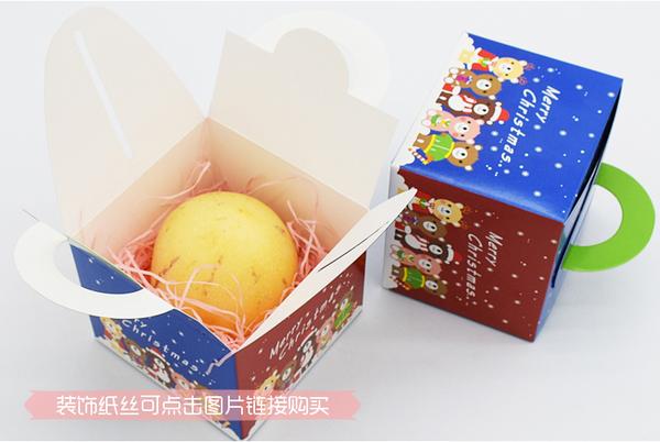 聖誕小動物手提盒 耶誕節 烘焙包裝 禮品包裝【X020】餅乾袋 禮品 蛋糕 西點盒 喜糖盒 外帶盒