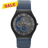 Skagen Grenen Titanium 鈦金屬日曆石英手錶-41mm SKW6149