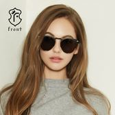 【Front 太陽眼鏡】Worth-it-三色可挑選#時尚個性眉框太陽眼鏡/墨鏡