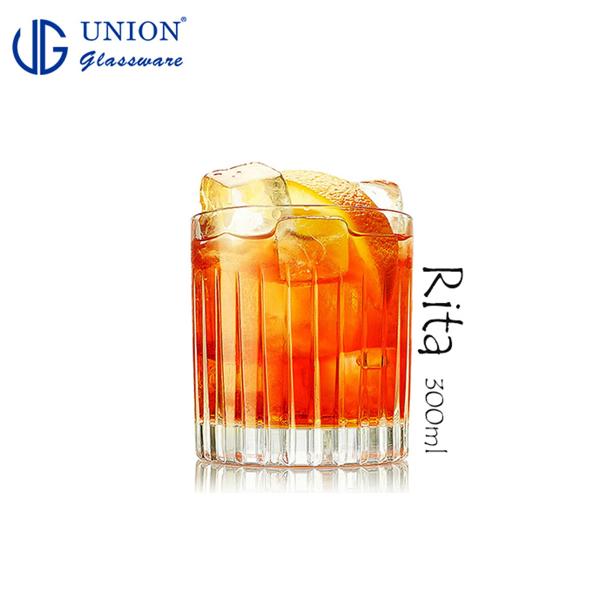 泰國UNION Rita威士忌杯300ml 玻璃杯 飲料杯 水杯 酒杯