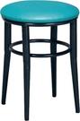 HY-Y321-9  月圓椅(綠色/烤黑)