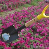 鐵鏟 園藝鐵鍬家用挖土種植工具加厚園藝鐵鏟子農用戶外挖土(快速出貨)