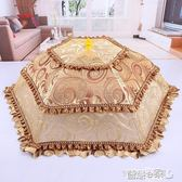 防蠅罩 家用圓形菜罩可折疊飯菜罩餐桌罩食物罩防蠅剩菜碗傘蓋菜 【全館免運】