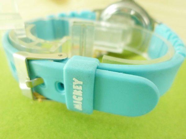 【震撼精品百貨】米奇/米妮_Micky Mouse~手錶-米奇划滑板-藍色錶帶