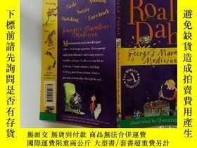 二手書博民逛書店ROALD罕見DAHL GEORGES MARVELLOUS MEDICINE :羅爾德·達爾·喬治神奇醫學 .奇