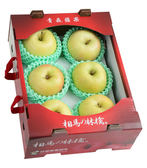 日本相馬村青森TOKI蘋果6入/盒(量販盒/1.6kg)