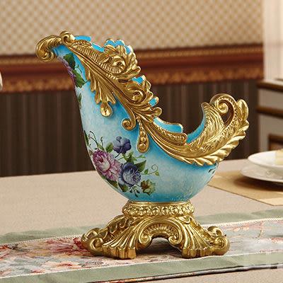 古典裝飾紅酒架(奢華藍色)
