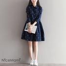 漂亮小媽咪 森林系洋裝 【D7023】 ...