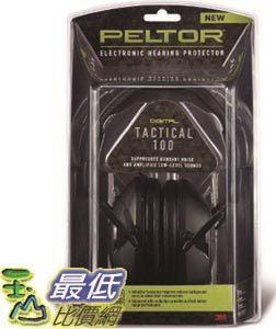 [104美國直購] 防音耳罩 3M TAC100-OTH Peltor Sport Tactical 100 Electronic Hearing Protector