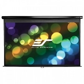 【音旋音響】Elite Screens 135吋 4:3 標準手拉幕-白塑布 M135UWV2 公司貨 2年保固