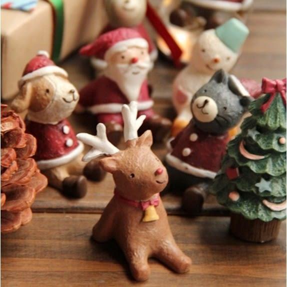 Zakka聖誕仰望天空微景觀公仔(單個) CARMO【B10006】