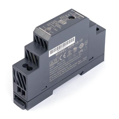 [2美國直購] denkovi 導軌電源 Mean Well HDR-15-12 Industrial DIN Rail Power Supply 12V/1.25A Out