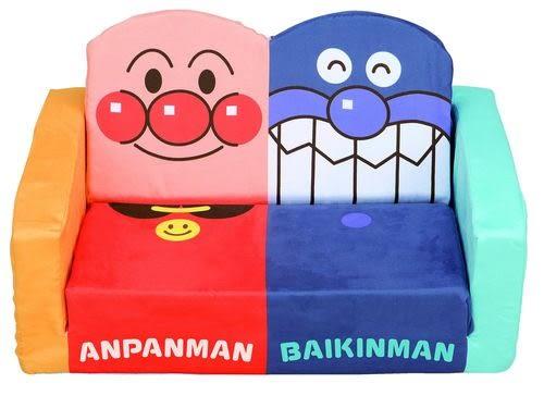 日本麵包超人細菌人沙發椅沙發床630330通販屋