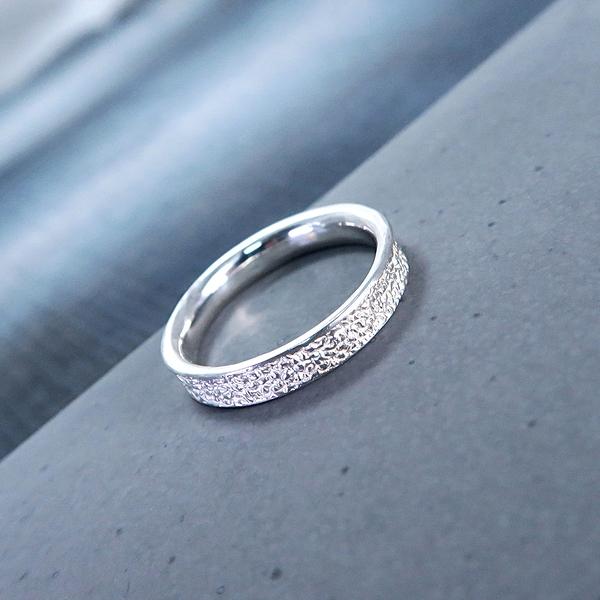 [預購] 自然系 土 Soil 女款 925純銀戒指 ART64