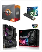 (C+M+S)AMD R5 3600【6核/12緒】+ 華碩 ROG STRIX X570-E GAMING + Intel 660P 256G M.2 SSD