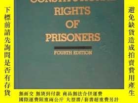 二手書博民逛書店CONSTITUTIONAL罕見RIGHTS OF PRISON