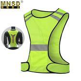 反光背心 跑步夜跑運動 透氣速干網布LED閃燈戶外騎行防護服「Top3c」