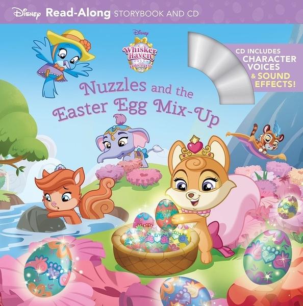 【麥克書店】NUZZLES AND EASTER EGG MIX-UP /英文繪本附CD ‧聽迪士尼說故事