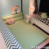 懶人沙發床榻榻米單人可摺疊兩用陽台臥室女小戶型簡易躺椅網紅款NMS【美眉新品】