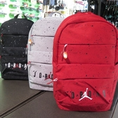 【iSport愛運動】NIKE JORDAN RETRO 13 PACK 雙肩後背包 9A0144- 黑紅兩色
