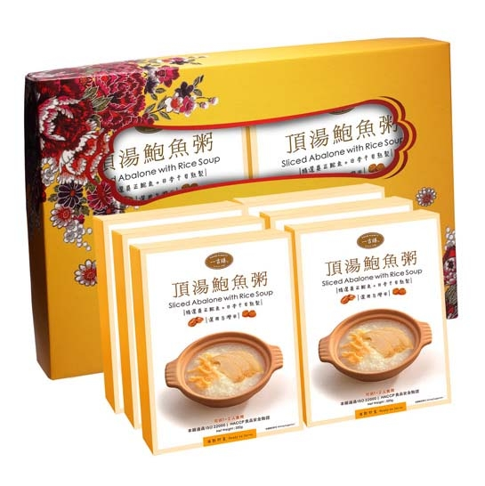 一吉膳-鮑魚粥禮盒(320g/6盒)