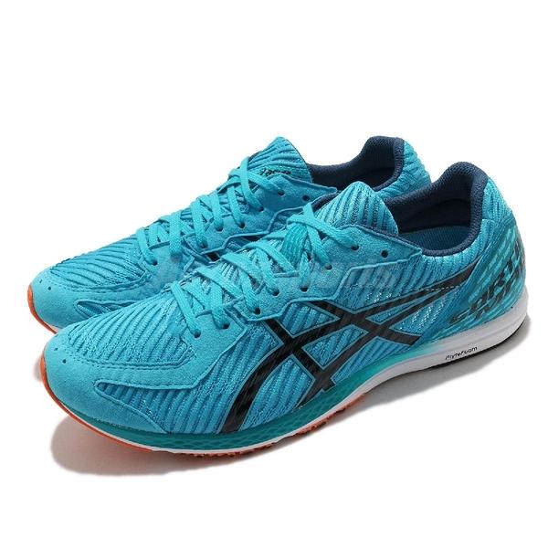 Asics 競速跑鞋 Sortiemagic RP 5 寬楦頭 藍 男 緩衝 訓練 【ACS】 1093A090402
