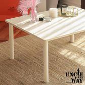 復古白大桌-日式風茶几置物矮桌【JS1111】 茶几 和式矮桌 收納桌 書桌 木紋書桌
