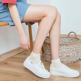 襪子女短襪秋季純棉運動韓國可愛吸汗薄款低幫淺口日系隱形船襪女 美芭