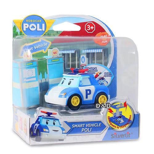 《 POLI 波力 》 波力電動車(需另購充電站遊戲組充電)  ╭★ JOYBUS玩具百貨