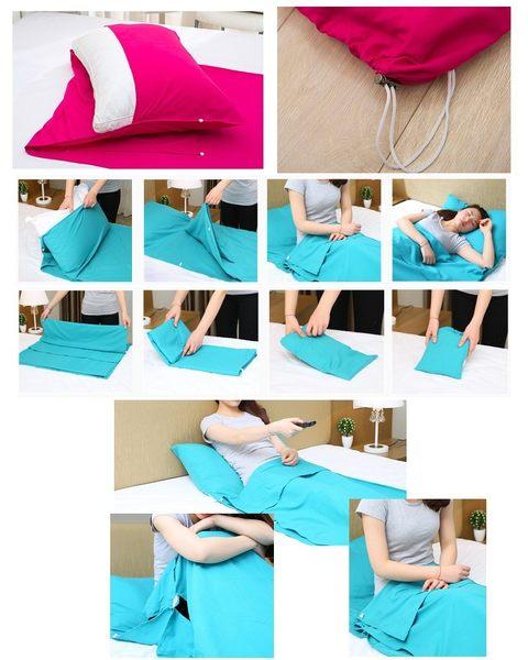 超大號攜帶式可拆洗保潔睡袋