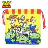 日本限定 迪士尼 玩具總動員4 胡迪 巴斯光年 叉奇 牧羊女 三眼怪 束口袋 / 收納袋