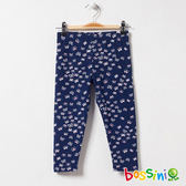 印花針織貼身褲01海軍藍-bossini女童