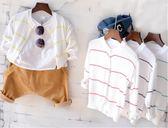 男童針織外套薄款超柔透氣兒童空調開襟