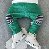 嬰兒褲子高腰純棉男0一1歲薄款可開襠6-12個月女寶寶打底褲  伊衫風尚