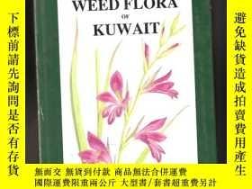 二手書博民逛書店THE罕見WEED FLORA OF KUWAITY24040