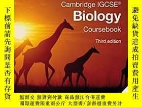 二手書博民逛書店Cambridge罕見IGCSE Biology Courseb