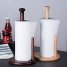 加高廚房紙巾架木質