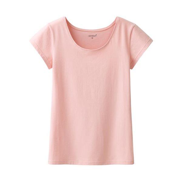 夏季短袖t恤女裝純色大碼白色上衣修身顯瘦圓領體恤打底衫【中秋節好康搶購】