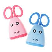 【奇買親子購物網】英國 貝氏BERZ 兒童食物剪刀組(藍色/粉色)
