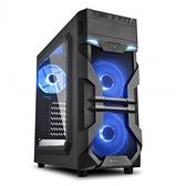 Sharkoon 旋剛 VG7-W bu 光影者 單色藍光 壓克力側板 ATX 機殼