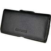真皮系列 Samsung Galaxy E5 腰夾式/穿帶式 橫式手機皮套
